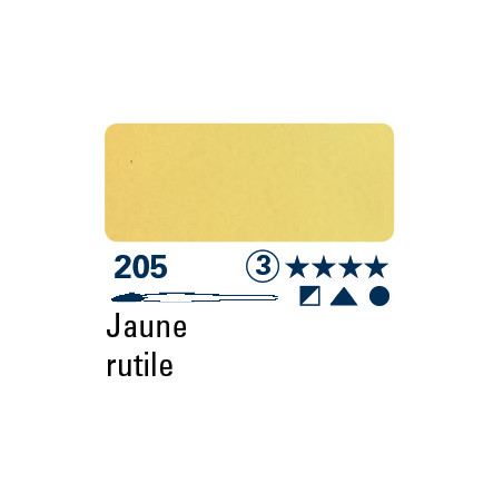 SCHMINCKE AQUARELLE HORADAM S3 205 15ML JAUNE RUTILE