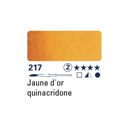 SCHMINCKE AQUARELLE HORADAM S2 217  5ML TEINTE QUINACRIDONE OR