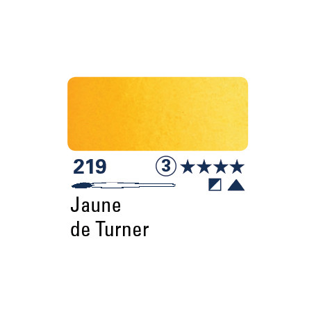 SCHMINCKE AQUARELLE HORADAM S3 219  5ML JAUNE TURNER