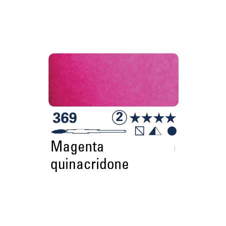 SCHMINCKE AQUARELLE HORADAM S2 369  5ML QUINACRIDONE MAGENTA