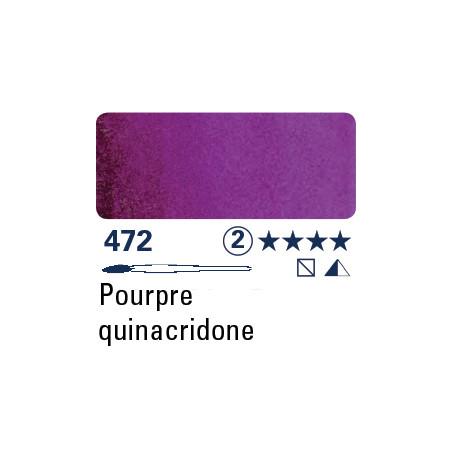SCHMINCKE AQUARELLE HORADAM S2 472  5ML POURPRE DE QUINACRIDONE