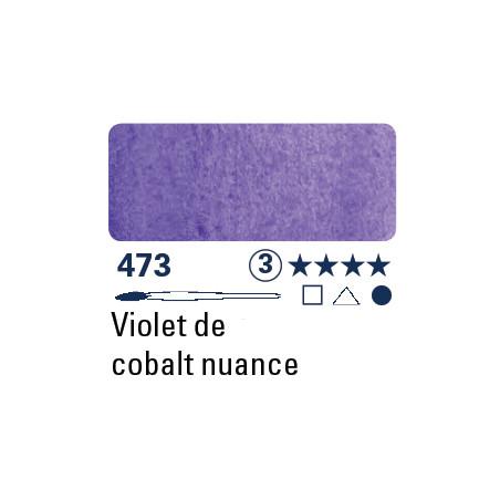 SCHMINCKE AQUARELLE HORADAM S3 473  5ML TEINTE VIOLET DE COBALT