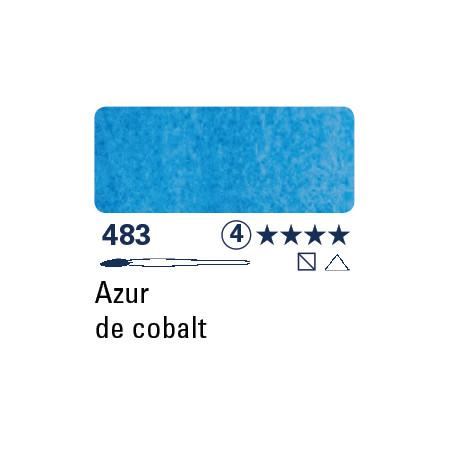 SCHMINCKE AQUARELLE HORADAM S4 483  5ML AZUR DE COBALT