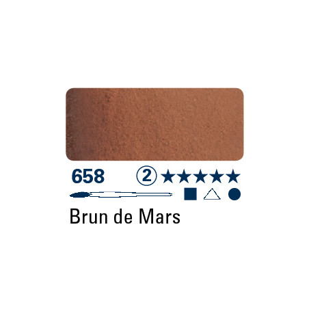 SCHMINCKE AQUARELLE HORADAM S2 658 15ML BRUN DE MARS