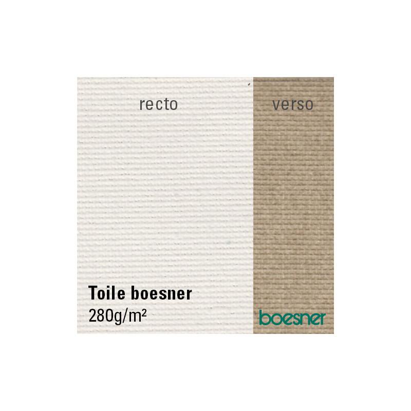 Toile à peindre en coton apprêtée — 280g/m²