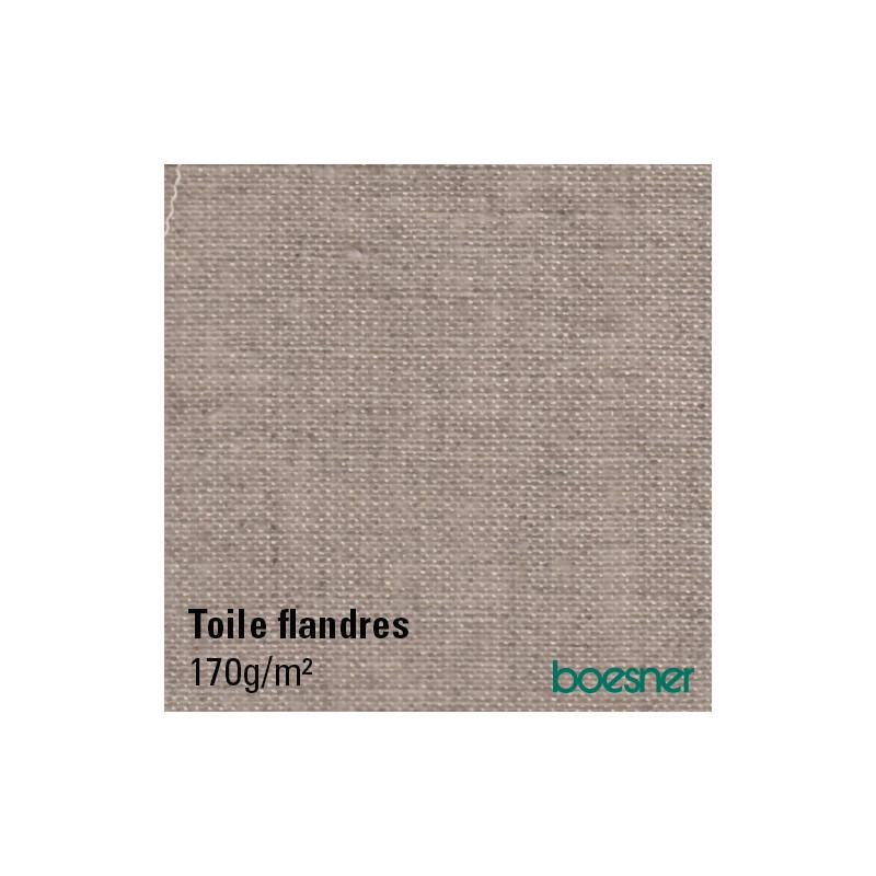 Toile à peindre en lin 170 g/m² — FLANDRES