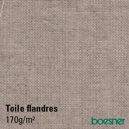 Flandres toile de lin brut 170g/m² en rouleau