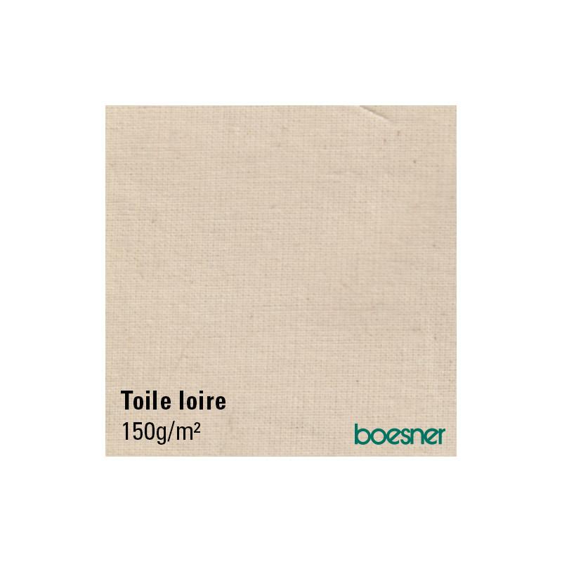 Toile à peindre en coton — 150g/m² — LOIRE