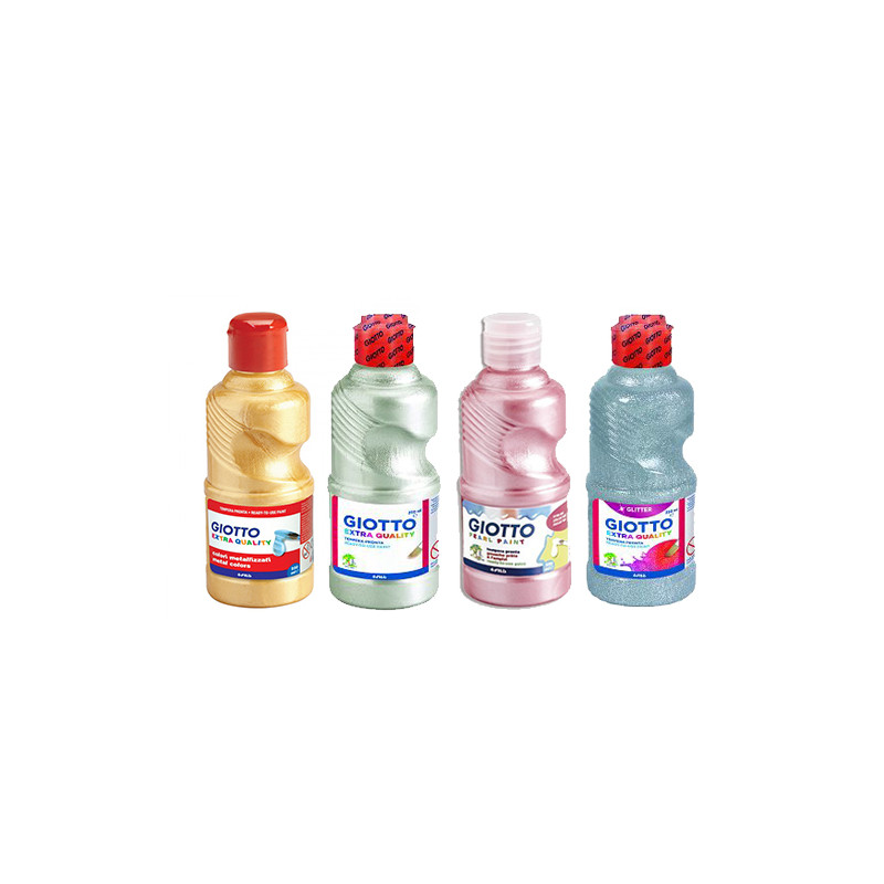 ASSORTIMENT 4 FLACONS 250 ML NACRE