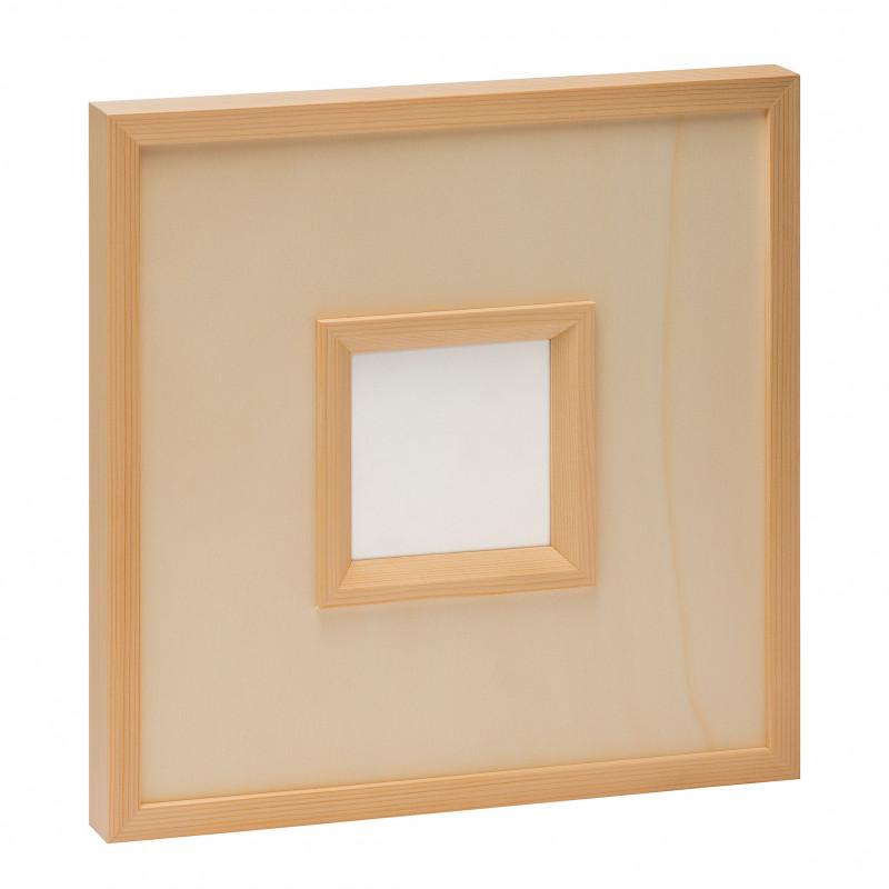 cadres en bois avec verre uno. Black Bedroom Furniture Sets. Home Design Ideas