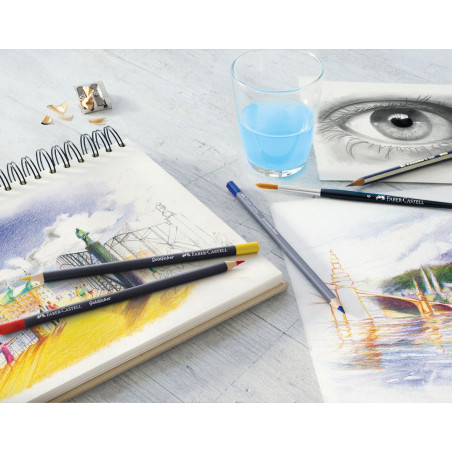 Crayons goldfaber aqua Faber Castell