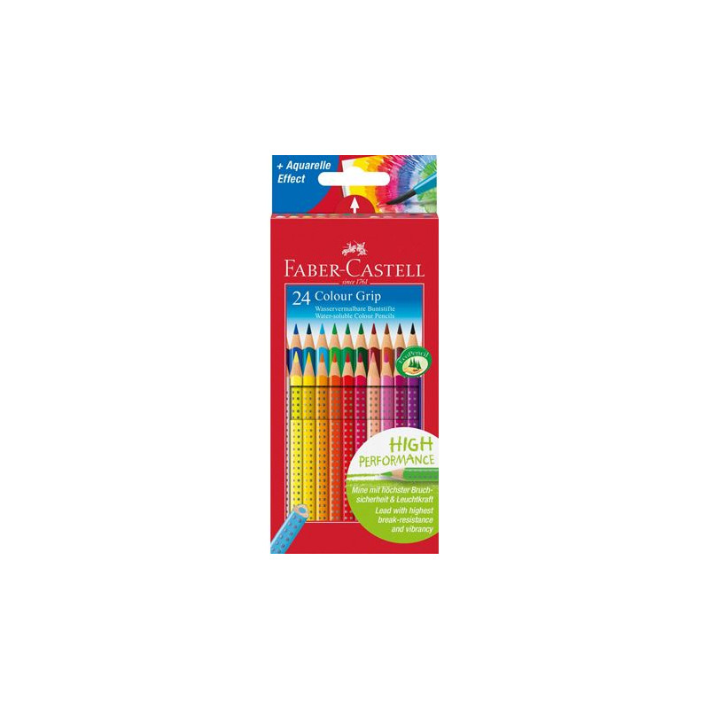 Crayon aqua grip Faber Castell