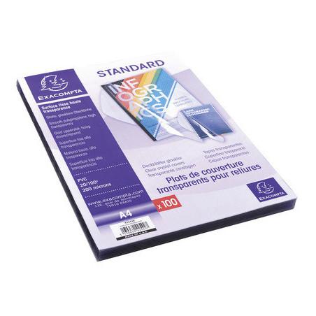 Plat de couverture PVC transparent