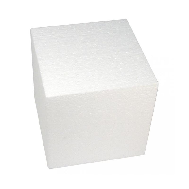 Cube en polystyrène 20 cm