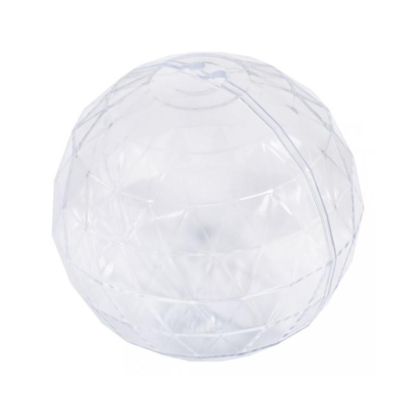 Boule à facette en plastique
