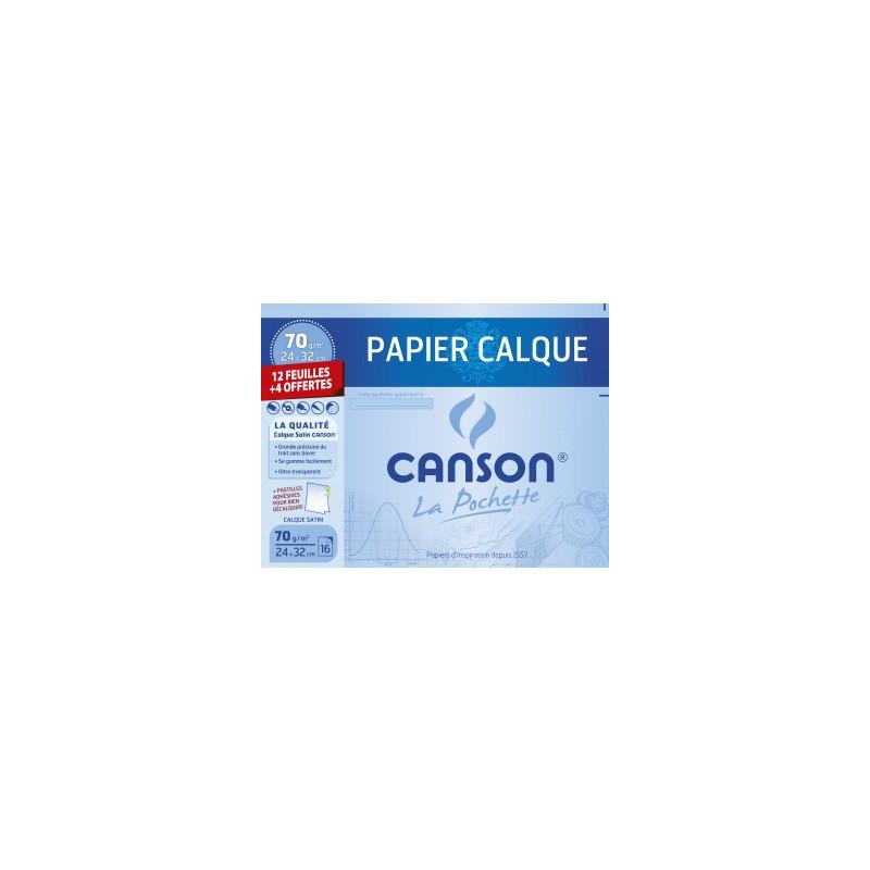 Pochette Papier calque Canson 70 g/m2