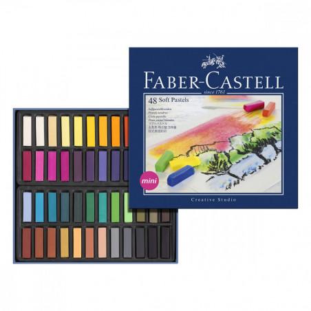Coffrets de demi pastels tendres Faber Castell