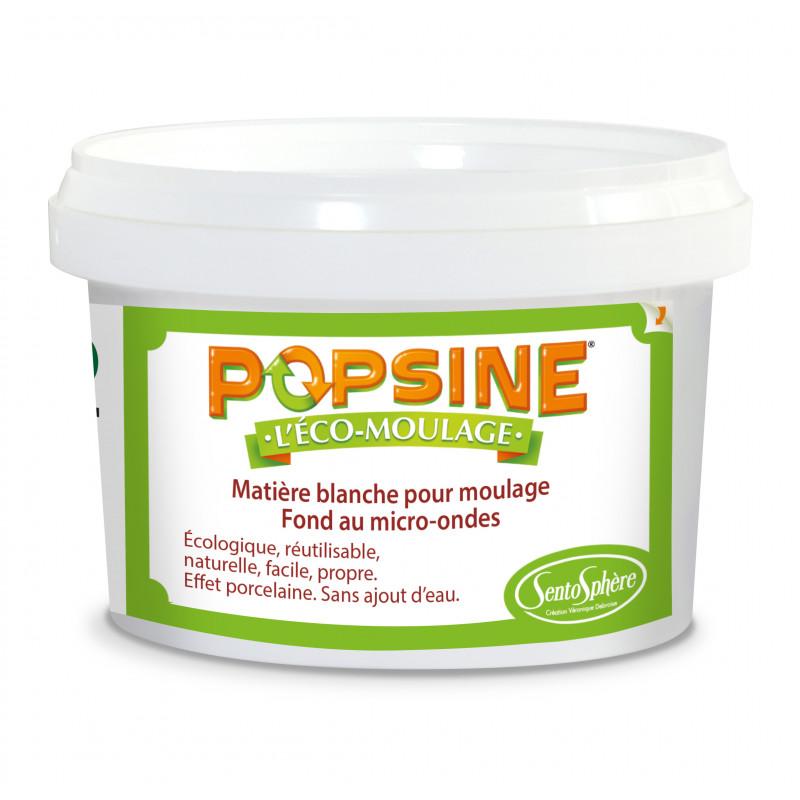 Matière naturelle de moulage Popsine