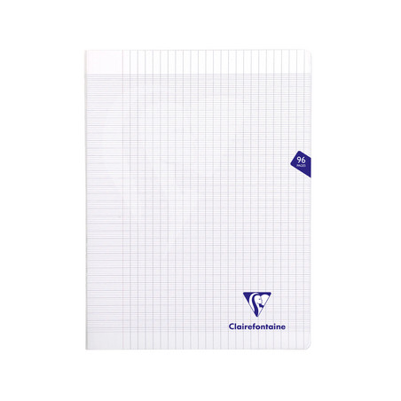 CLAIREFONTAINE CAHIER MIMESYS 24X32CM 96 PAGES SEYES TRANSPARENT