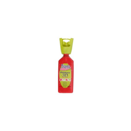 OZ DIAMS 3D, 37ML, BRILLANT ROUGE PROFOND