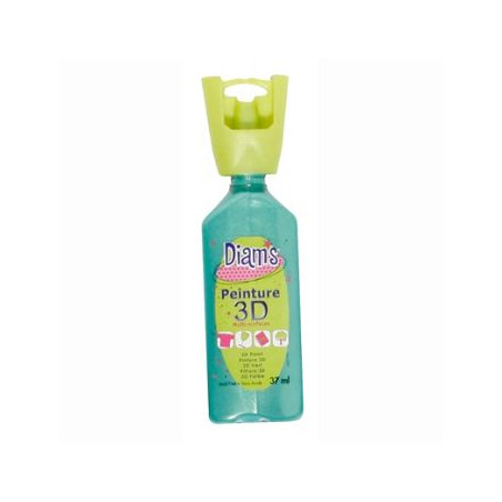 OZ DIAMS 3D, 37ML, NACRE VERT FEUILLE
