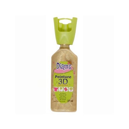 OZ DIAMS 3D, 37ML, NACRE SABLE D'OR