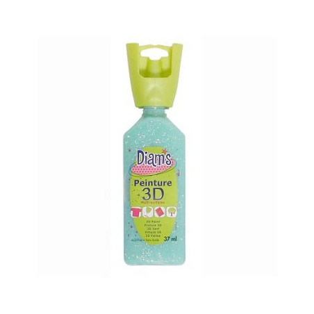 OZ DIAMS 3D, 37ML, GLACE VERT D'EAU  ART SUP !!!!!!!!!!!!!!!!!!!!!!!!