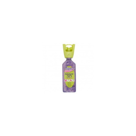 OZ DIAMS 3D, 37ML, PAILLETE MAUVE