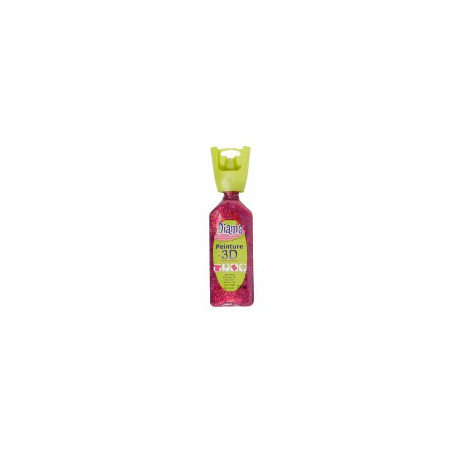 OZ DIAMS 3D, 37ML, PAILLETE ROUGE