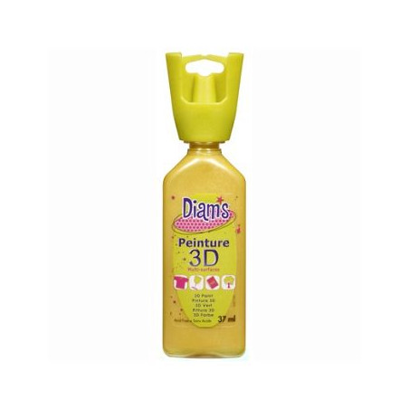 OZ DIAMS 3D, 37ML, NACRE JAUNE PAILLE  ART SUP !!!!!!!!!!!!!!!!!!!!!!