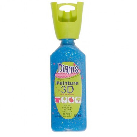 OZ DIAMS 3D, 37ML, GLACE CURAÇAO