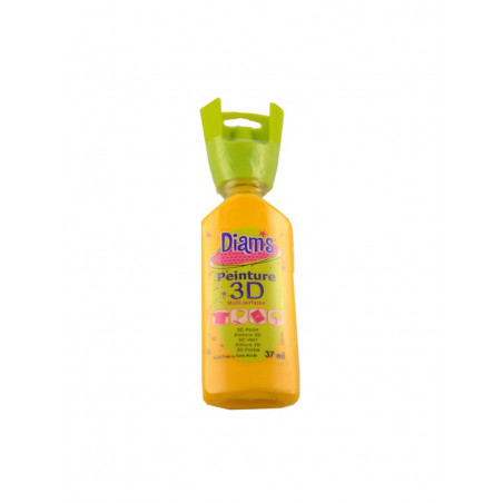 OZ DIAMS 3D, 37ML, BRILLANT JAUNE TOURNESOL
