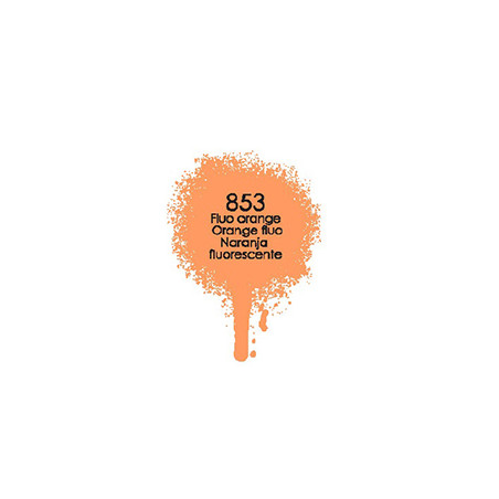 DECOSPRAY 200ML ORANGE FLUO