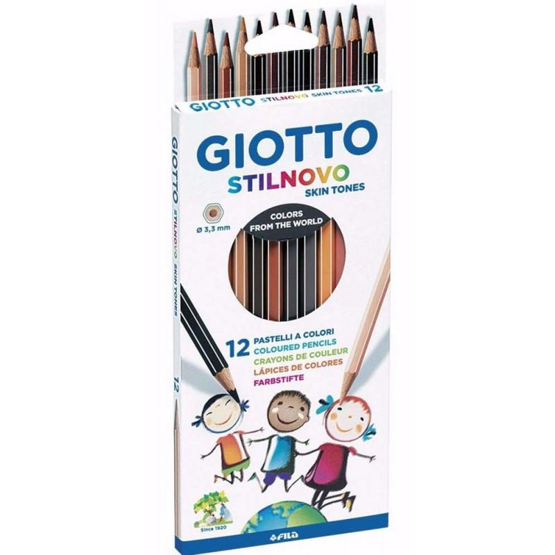 Crayons de couleur Skin Tones