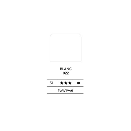LB FLASHE ACRYLIQUE 125ML POT BLANC 022