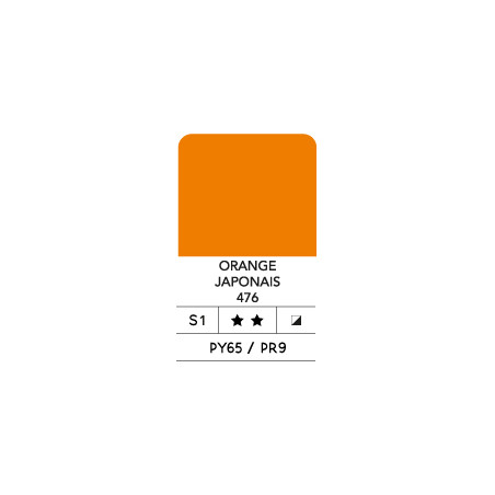 LB FLASHE ACRYLIQUE 400ML POT ORANGE JAPONAIS 476