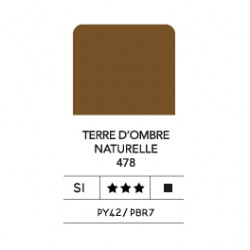 LB FLASHE ACRYLIQUE 80ML TUBE TERRE D OMBRE NATURELLE 478