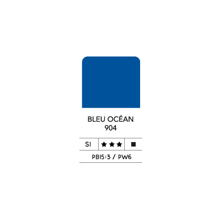 LB FLASHE ACRYLIQUE 80ML TUBE BLEU OCEAN 904