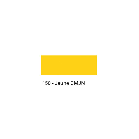 ENCRE TEXPRO 250ML 150 JAUNE CMYK SERIGRAPHIE SIEBDRUCKLAND
