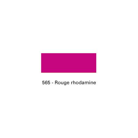ENCRE TEXPRO 250ML 565 ROUGE RHODAMINE SERIGRAPHIE SIEBDRUCKLAND