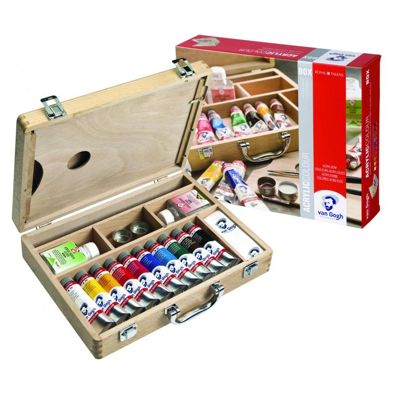 Basic box acrylique Van Gogh Limited Edition
