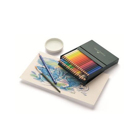 Crayons de couleur aquarellable en coffret — Faber-Castell