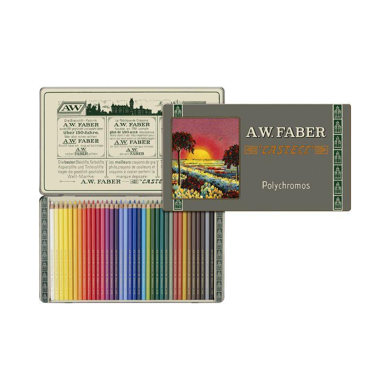 Coffret de crayons de couleurs Polychromos Edition spéciale 111