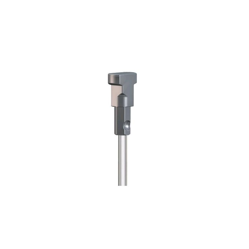 Tige en acier inoxydable pour rails de cimaise — Boesner