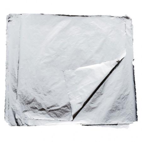 Aluminium battu — 100 Feuilles d'aluminium pour la dorure — Horus