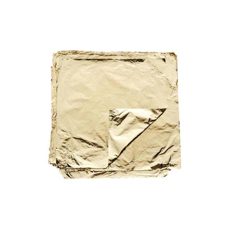 Or battu - feuilles d'or fine pour ornement et dorure
