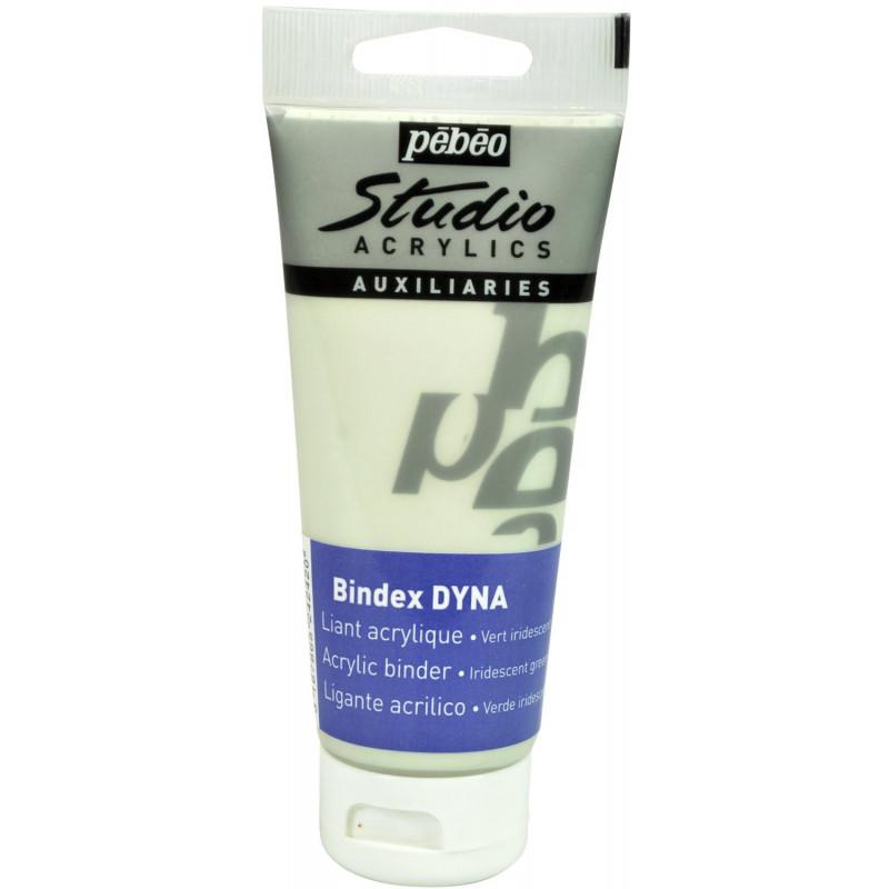 Liant acrylique Bindex DYNA vert — Studio Pébéo — 100 ml