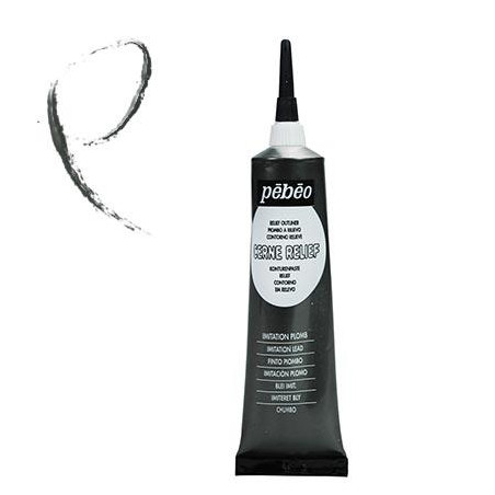 PEBEO CERNE RELIEF TUBE 20ML IMIT PLOMB