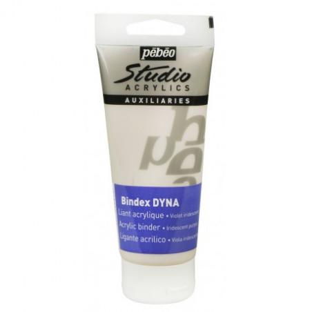 Liant acrylique Bindex DYNA violet — Studio Pébéo — 100 ml