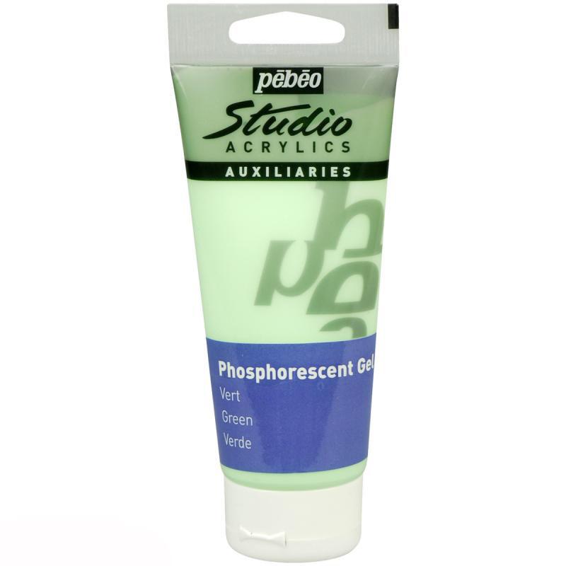 Gel acrylique phosphorescent vert — Pébéo